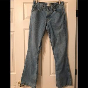 Levi's Size 6 Stretch Low Rise Bootcut Denim Jeans